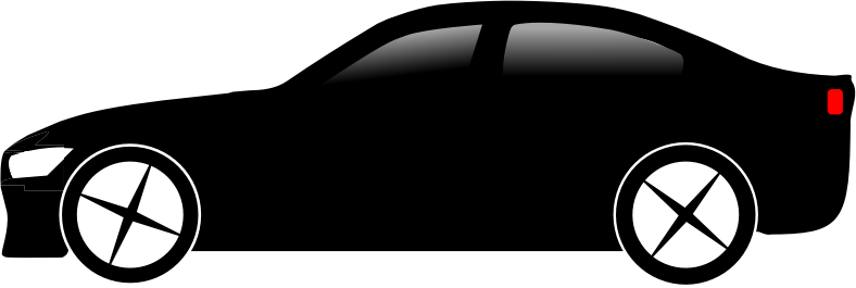 black sports car clipart - photo #31