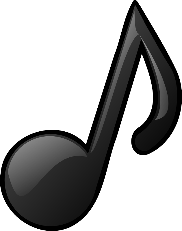 Musical note by nicubunu - a simple musical note