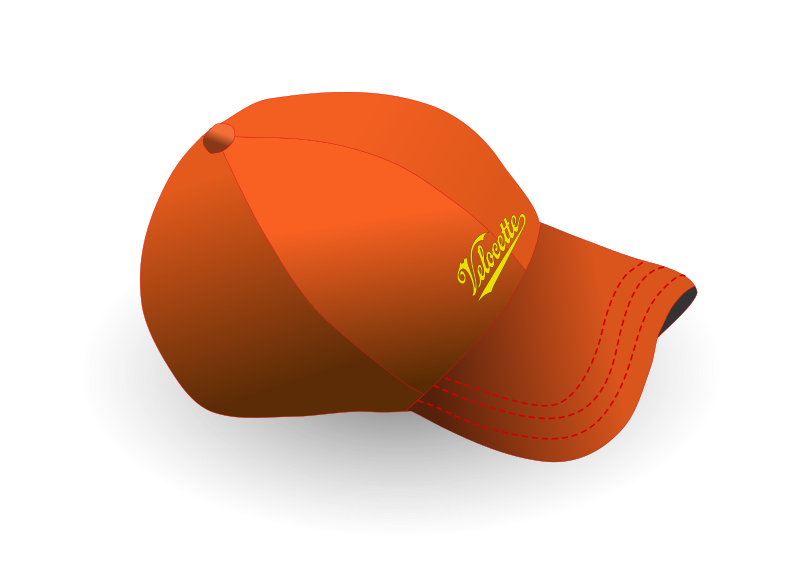 Baseball cap by zeimusu - Baseball cap, hand traced from the uploaded bitmap. I replaced the nike logo with something from the openclipart library