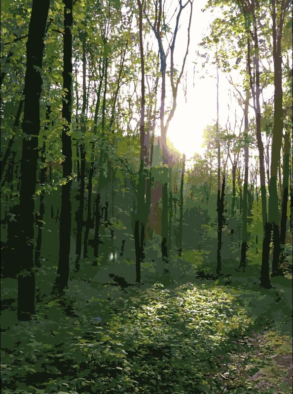 Clipart - Lichtscheid Forest Again 4