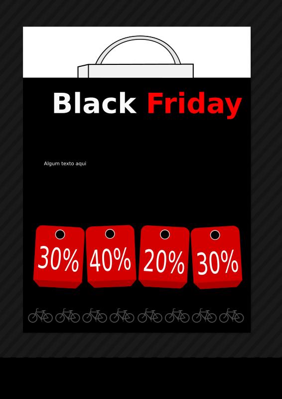 clipart black friday template banner. Black Bedroom Furniture Sets. Home Design Ideas