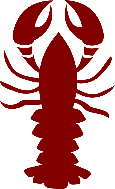 Clipart Lobster Stylised