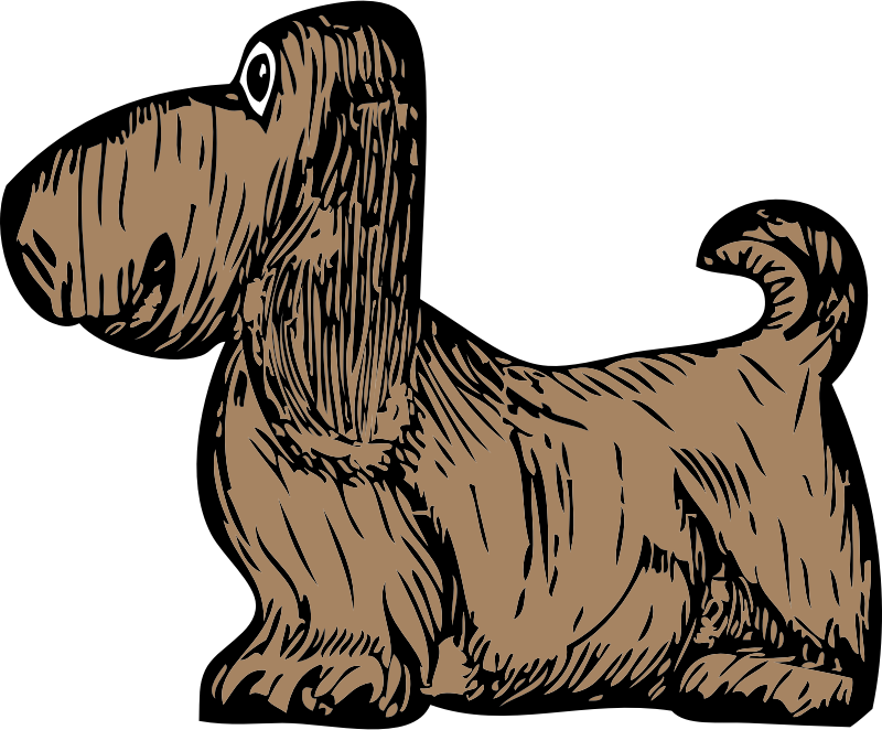 basset hound by johnny_automatic - a basset hound from a U.S. patent drawing