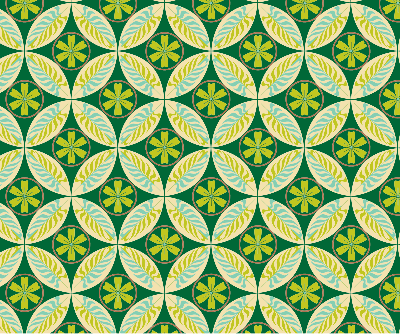 Green pattern backgrounds
