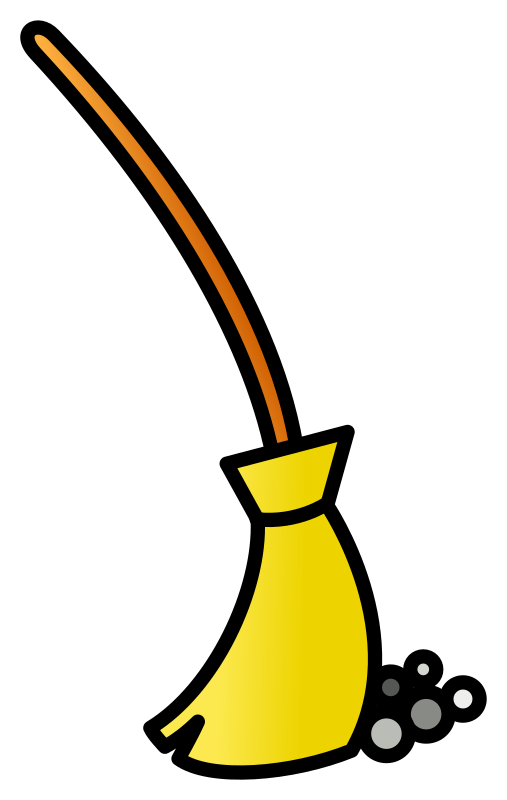 Clipart - broom