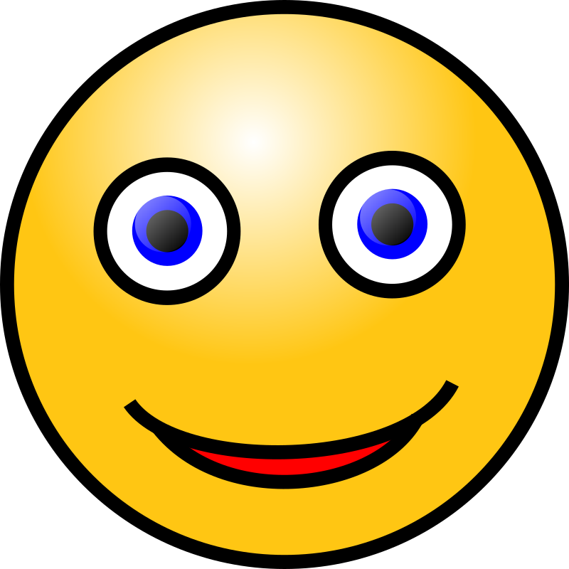 Emoticons: Smiling face by nicubunu - smiling face