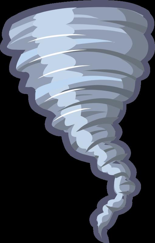 Clipart - Cartoon Tornado Animation