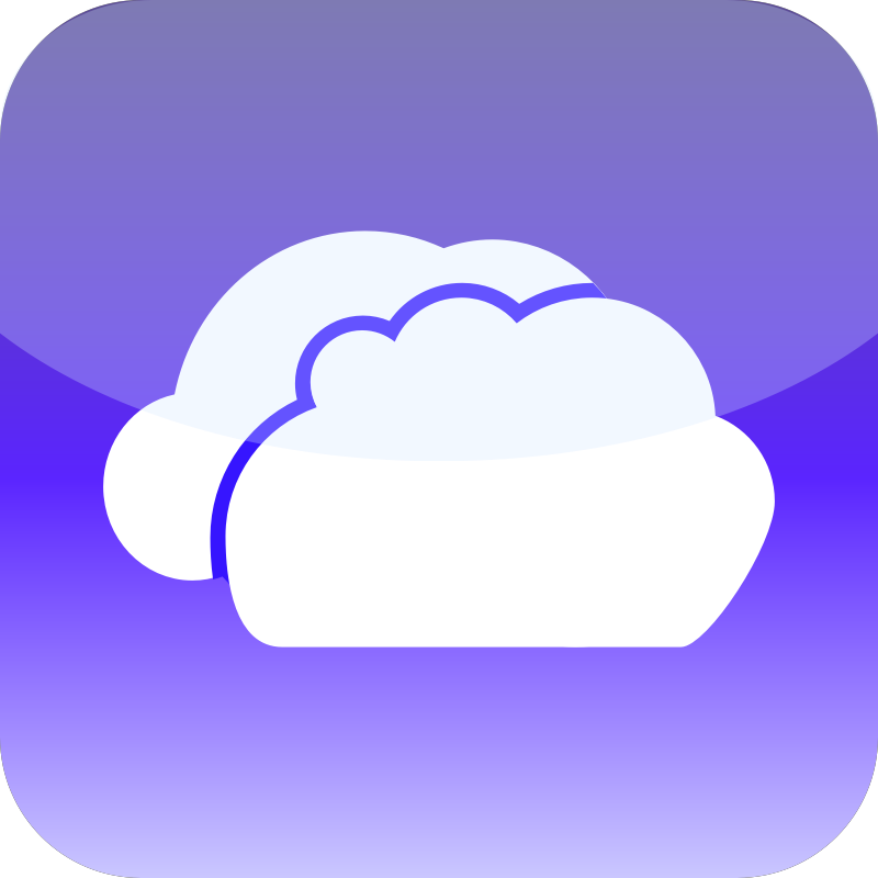 Simple Cloud Icon 2