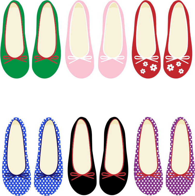 Clipart - Women's Shoes