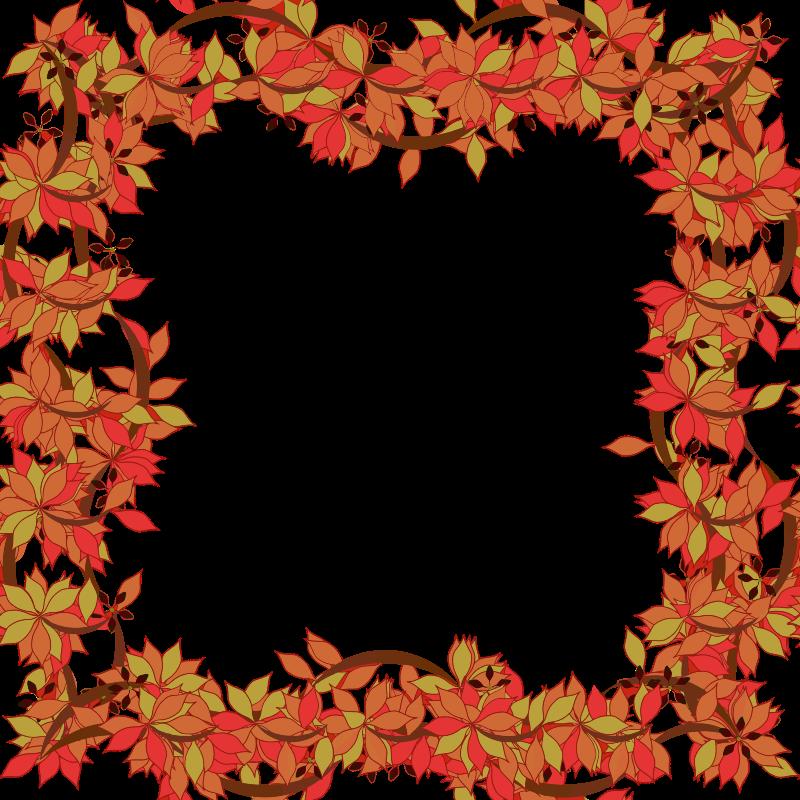 clipart floral frame 2