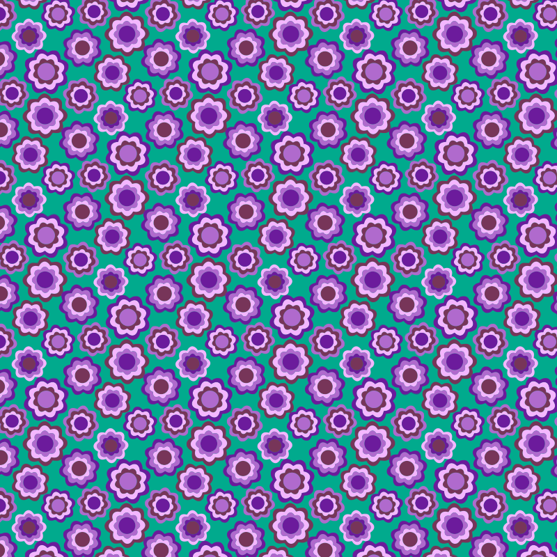 Clipart - Floral Pattern Background 3