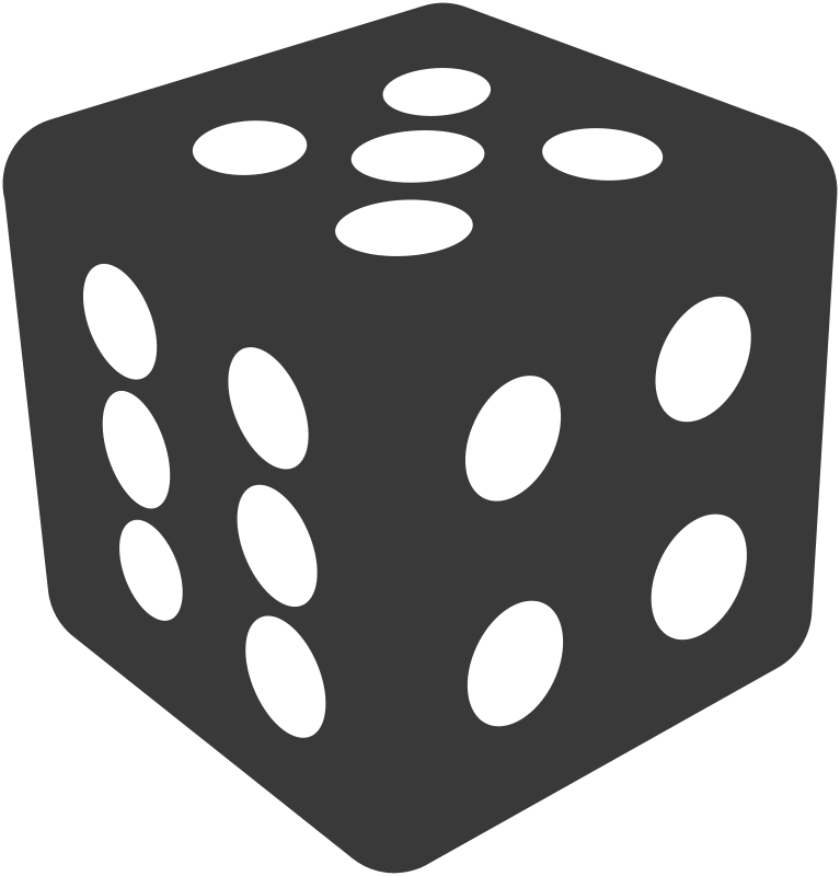 Clipart - Simple dice