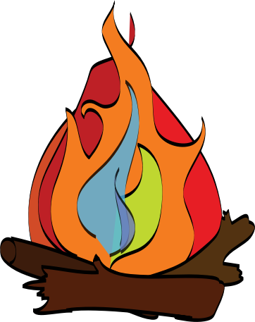 clipart camp fire campfire clip art free campfire clipart black