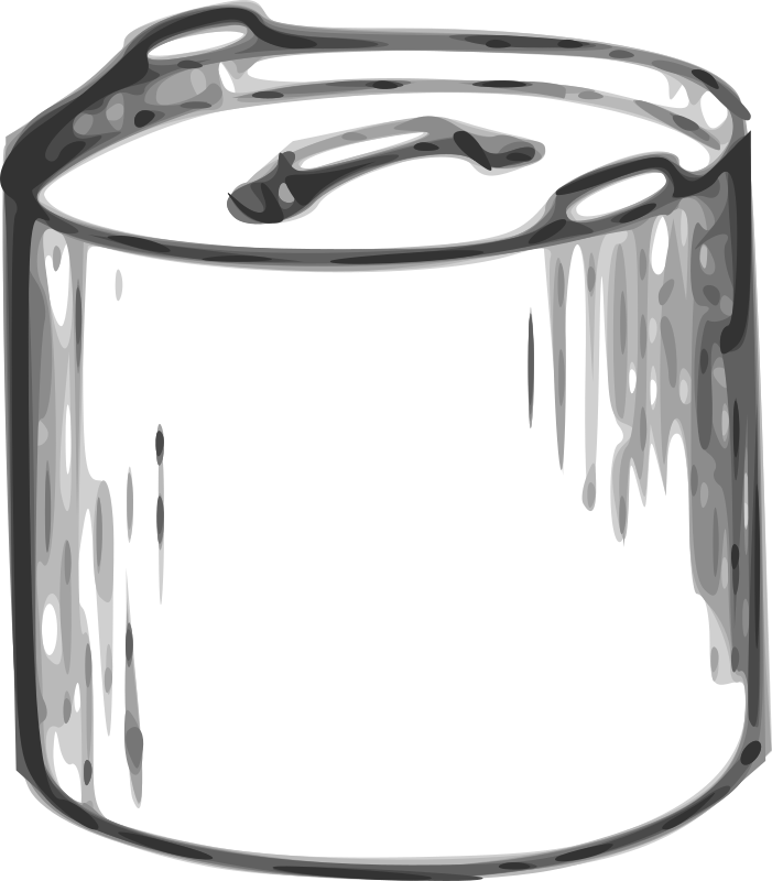 "Cooking pot by tom - Simple cooking pot, or kettle. part of ""fireless cooking"" extracted and traced from: From GENERAL SCIENCE BY BERTHA M. CLARK, PH.D. (Gutenberg EBook 16593)"