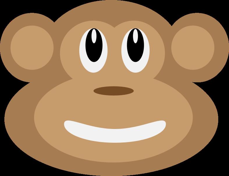 Clipart - Monkey