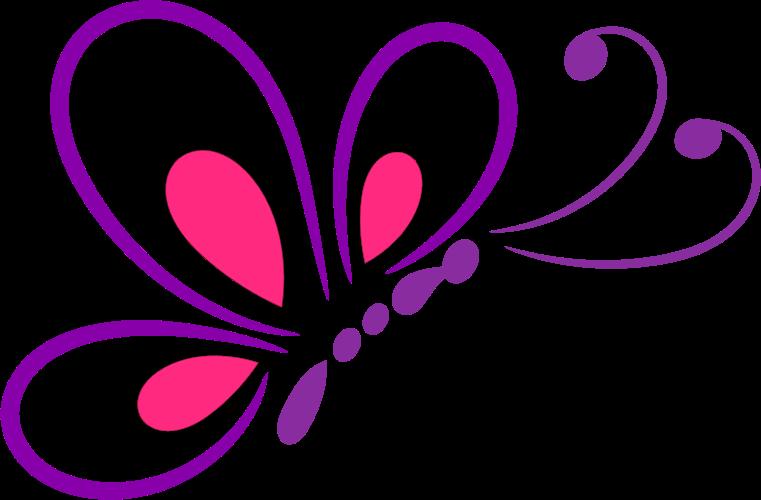 Line Art Vector Png : Clipart butterfly line art
