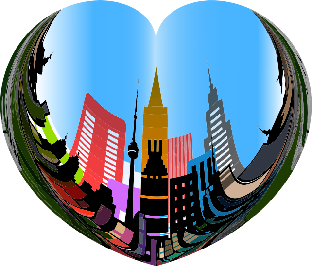 Clipart - Heart Of The City