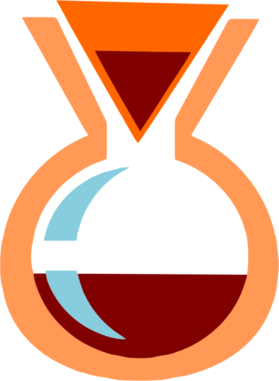 Clipart - Chemex Style Coffee Maker (Fixed Vectorized)