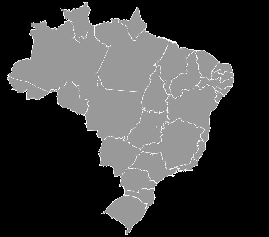 Clipart - mapa brasil