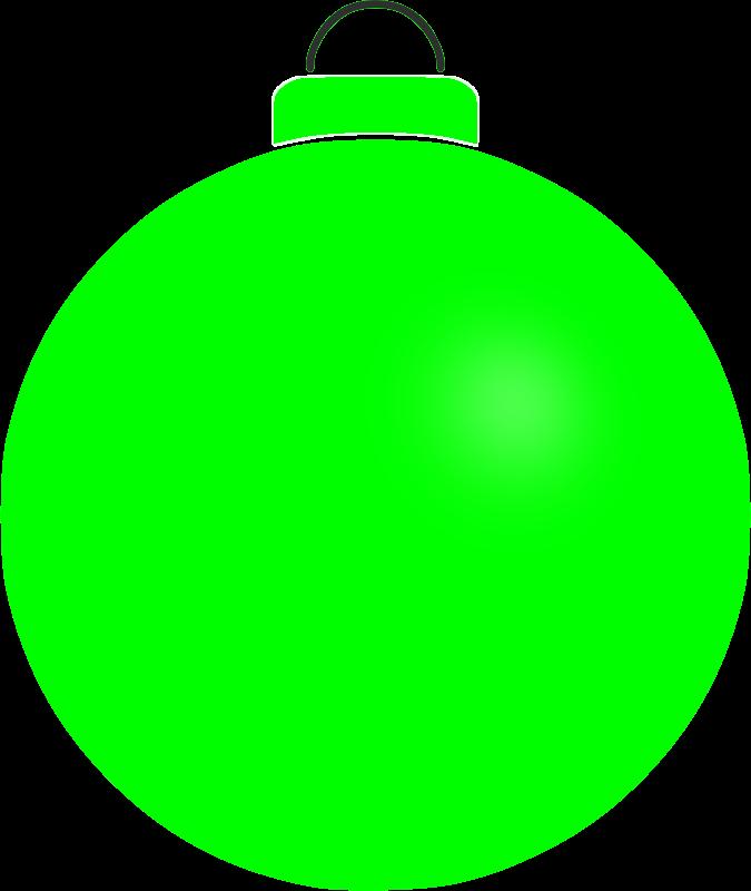 Clipart - Plain bauble 3