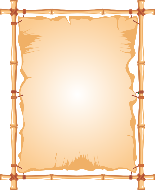 Clipart Bamboo Frame