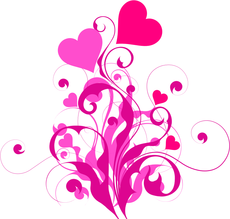 Clipart - Heart Flourish