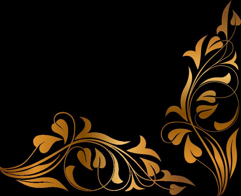 Clipart - Floral Flourish 6