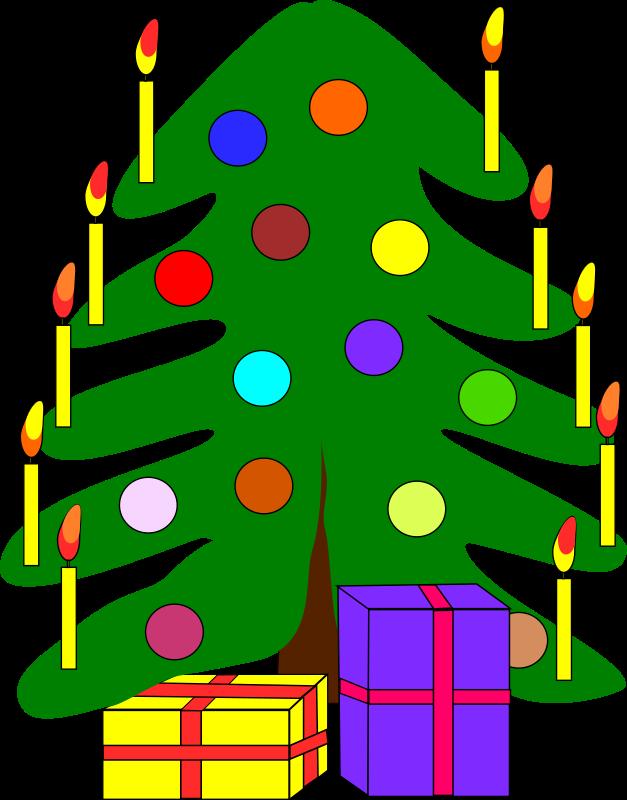 microsoft clip art christmas tree - photo #18