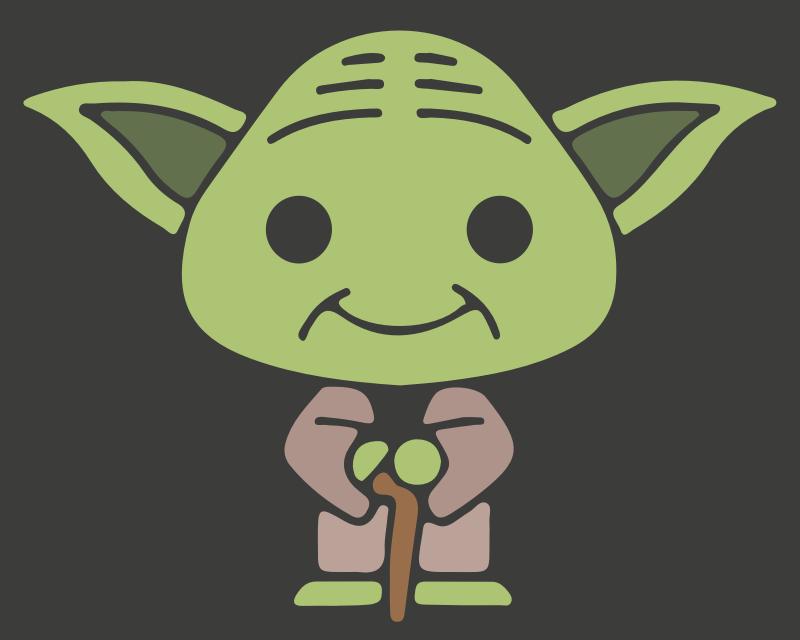 Clipart - Yoda