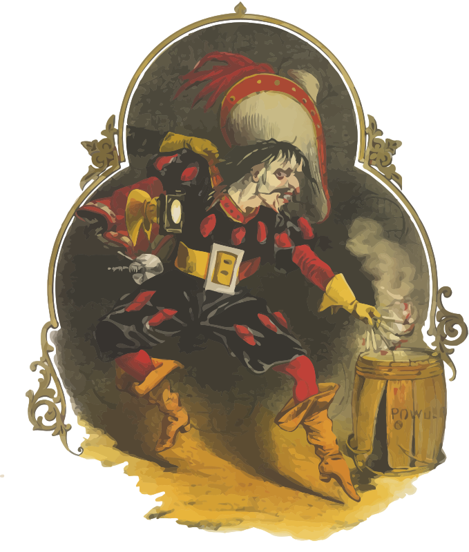 Clipart Guy Fawkes