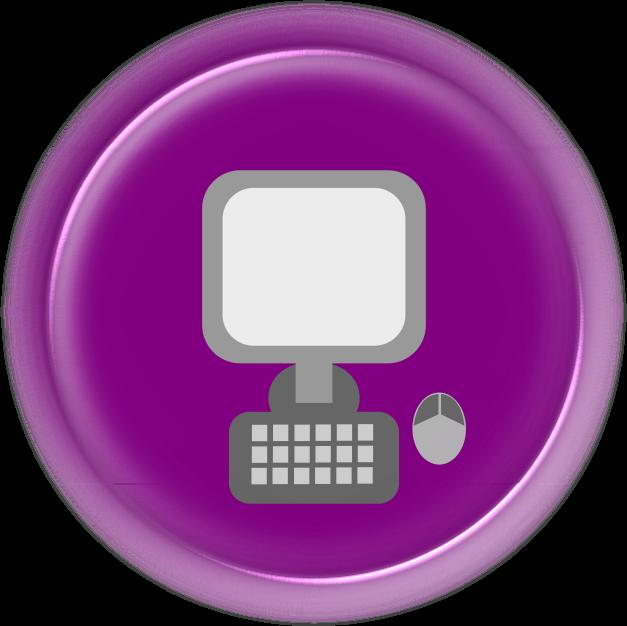 Clipart - Computer Icon