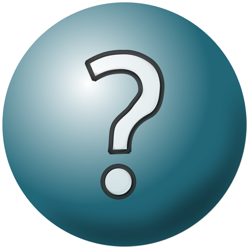 Clipart - Question Mark Icon