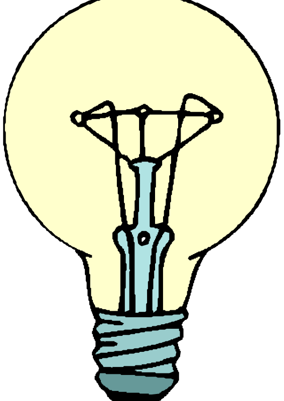 Lightbulb by liftarn - A simple light bulb.