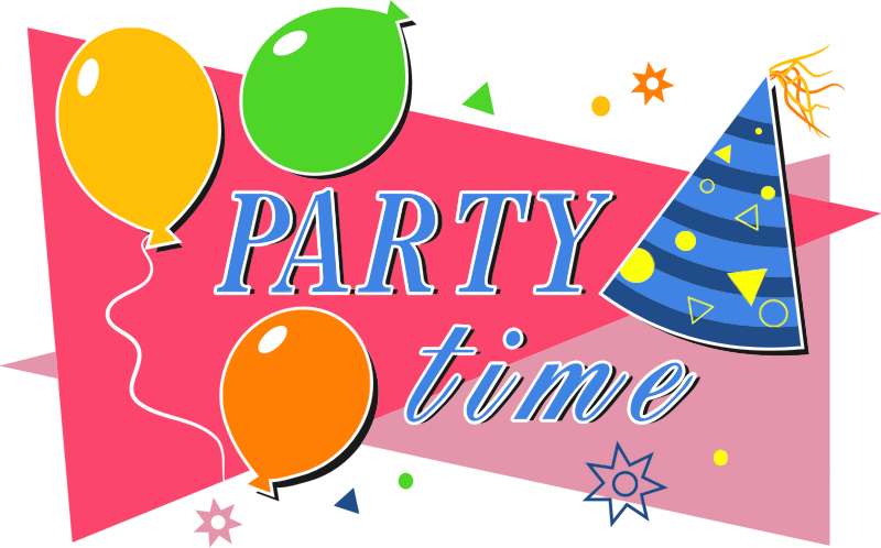 Clipart - Party Time