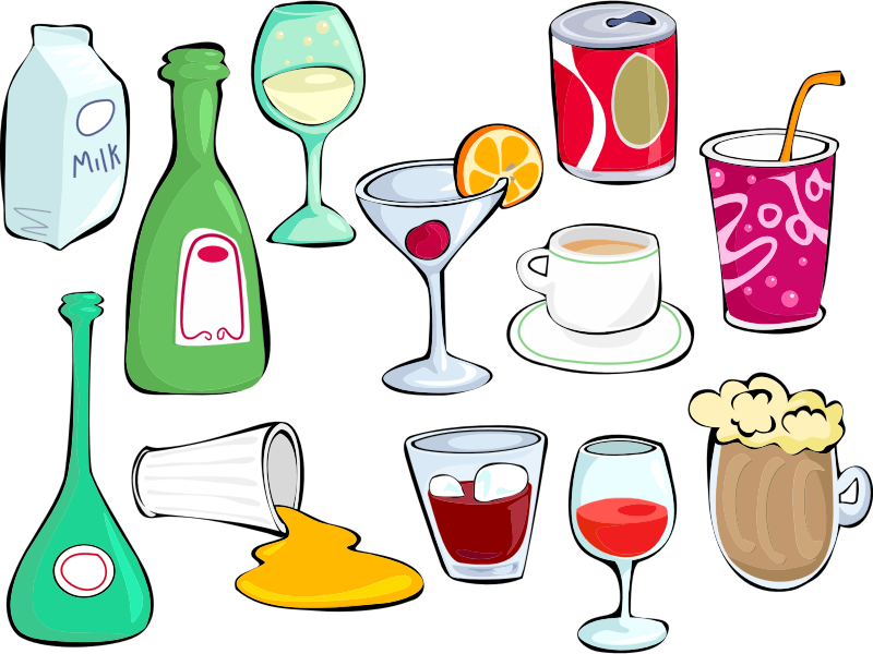 Clipart - Drinks Set