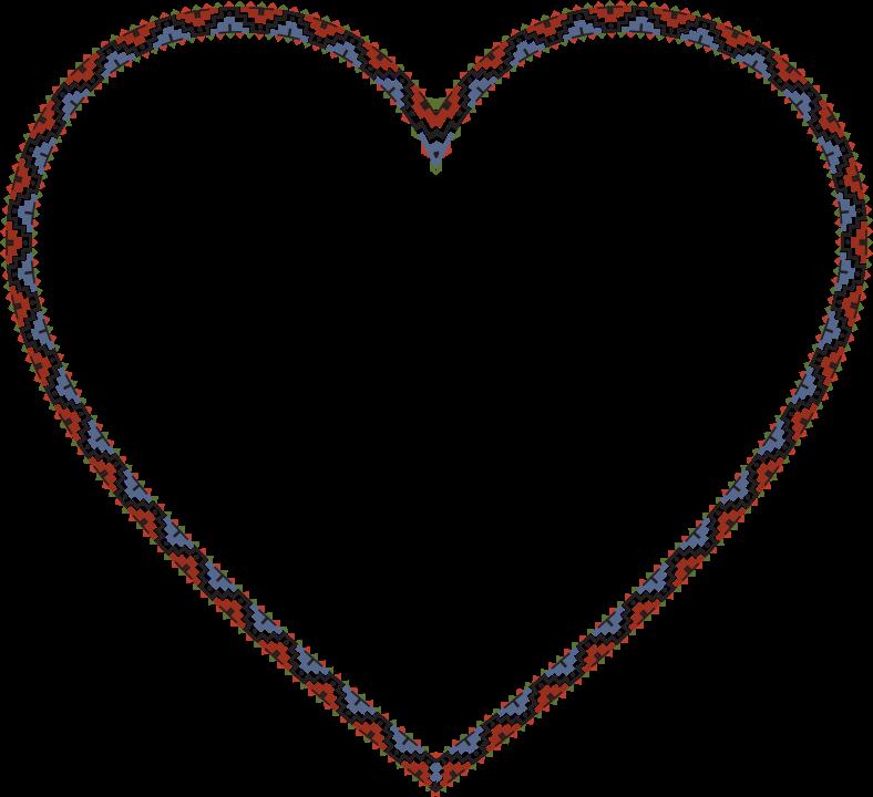 bClipart/b - bNative/b bAmerican/b Heart