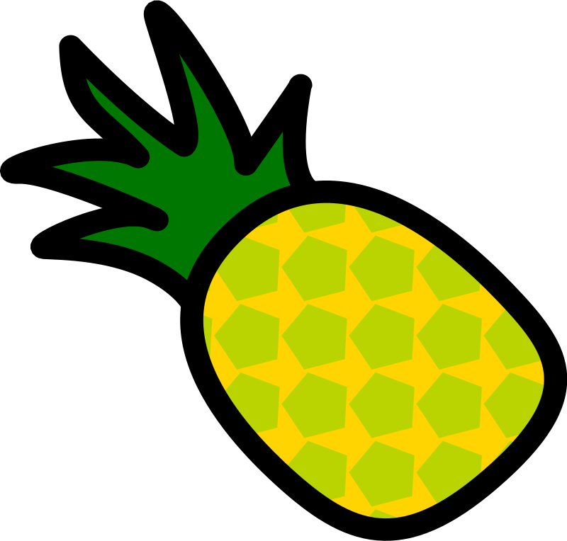 Pineapple Icon by chovynz - A pineapple icon. Minimalist. Inspired by http://openclipart.org/media/files/pitr/10285 I've kept these within 128 size. Part 2/6 of a requested set.