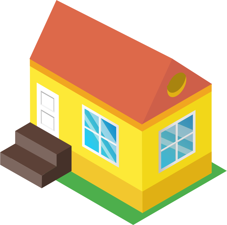 Clipart - Isometric House