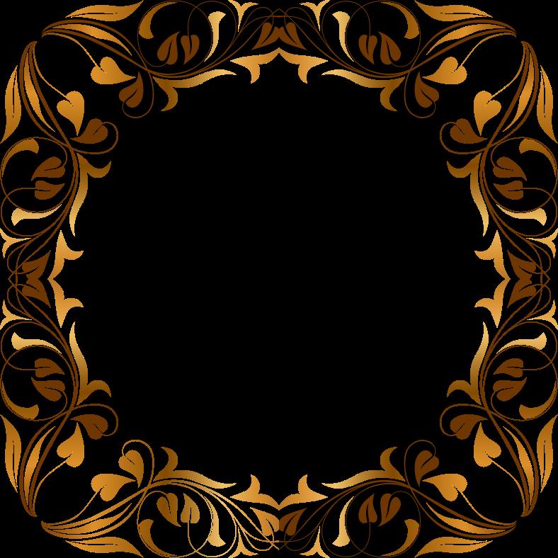 oval gold frame clip art pics download