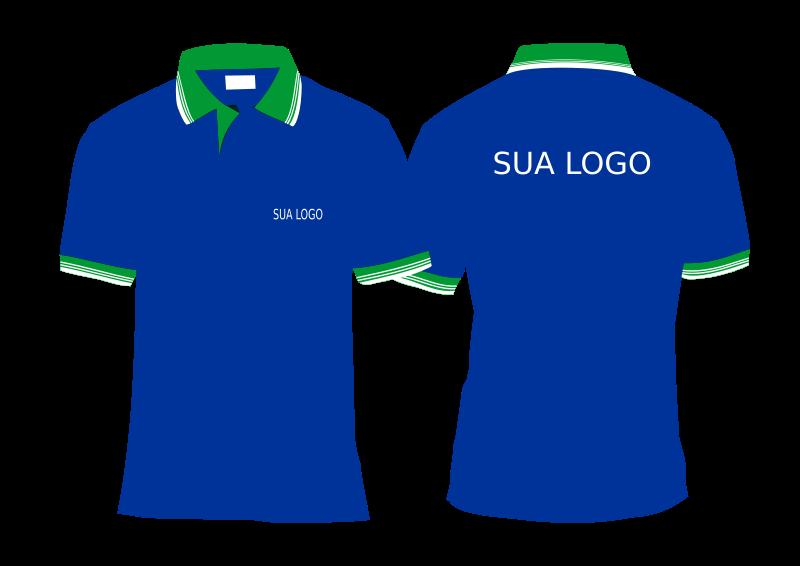 Clipart - Mockup Camisa Polo