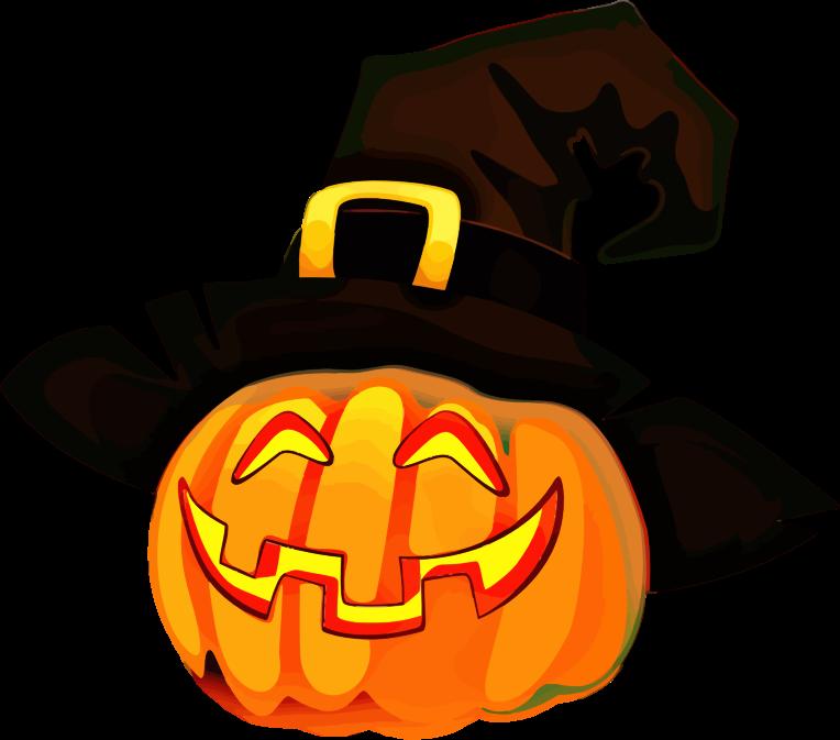 Clipart - Jack-'O-Lantern