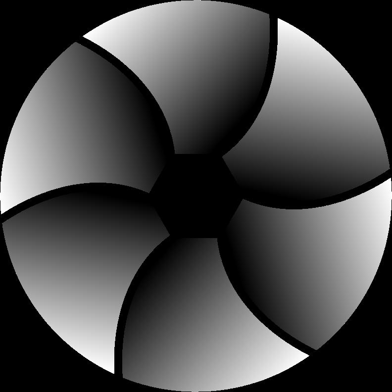 Clipart - Grayscale Shutter Icon