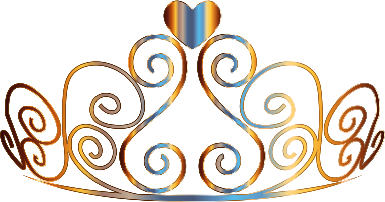 Clipart - Colorful Tiara