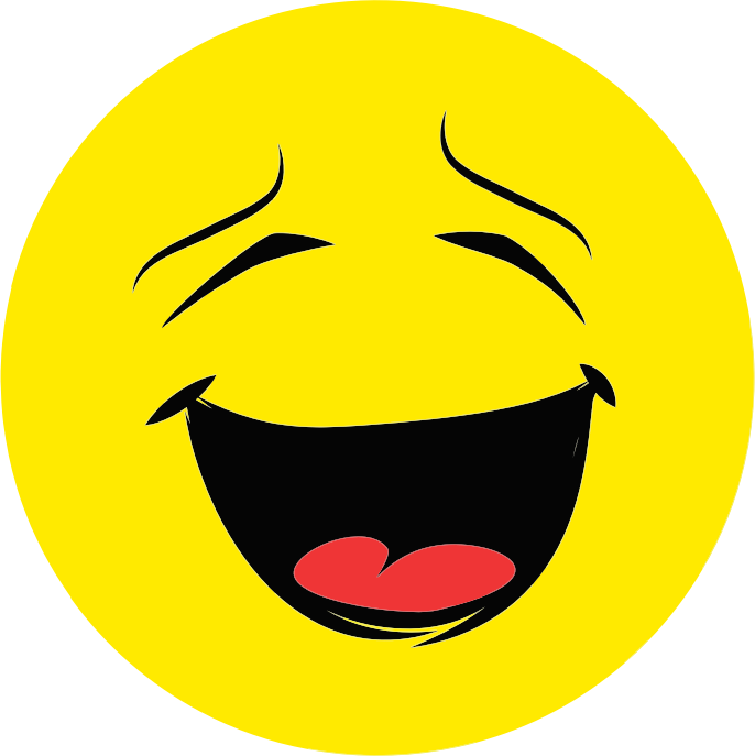 Clipart - Laughing Smiley