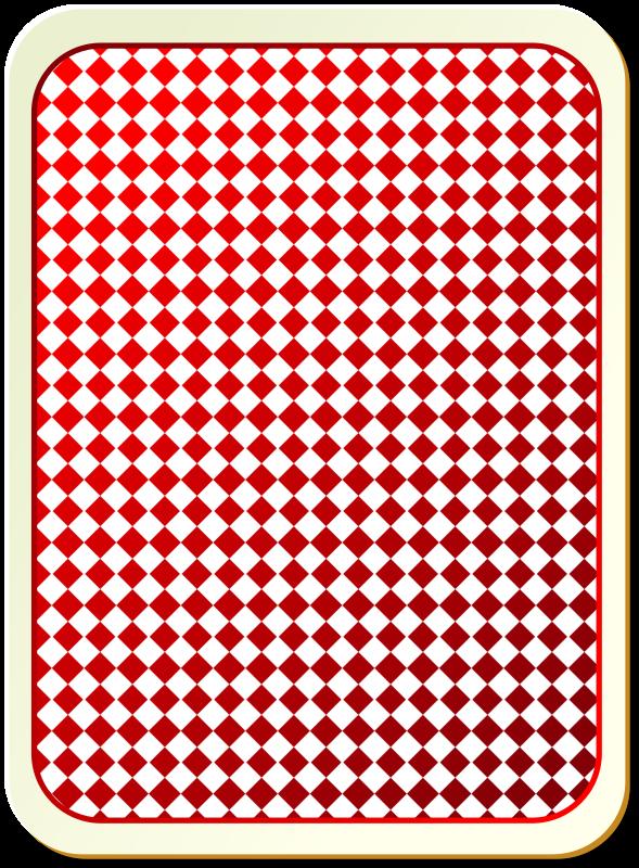 Card backs: grid red by nicubunu - playing card backs for ...