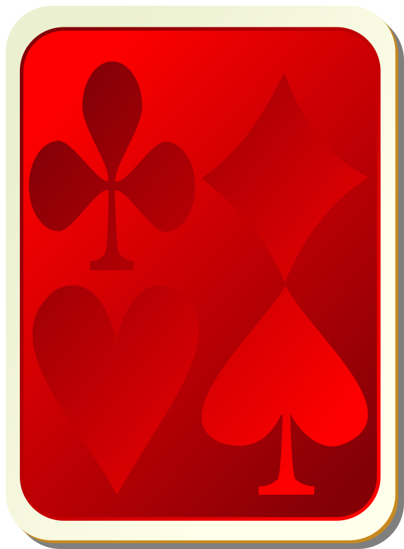 "Card backs: suits red by nicubunu - playing card backs for the ""Ornamental"", ""White"", ""Simple"" and ""Bordered"" sets"