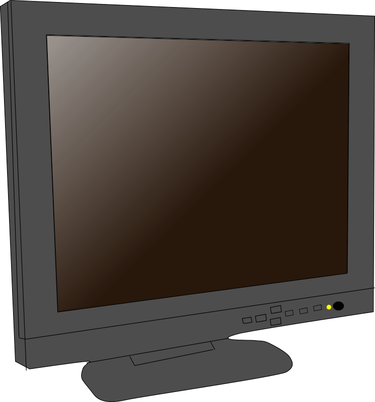 how to open hcl lcd monitor