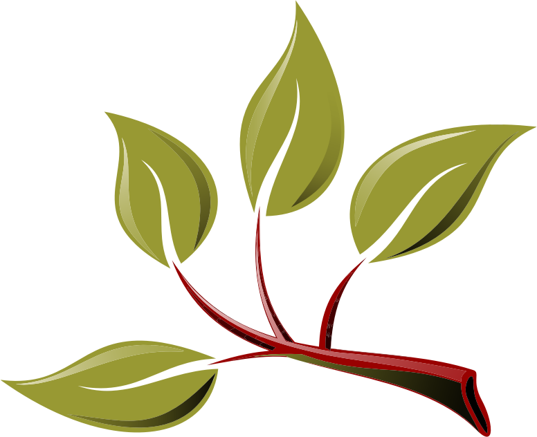 Clipart - Branch With Leaves