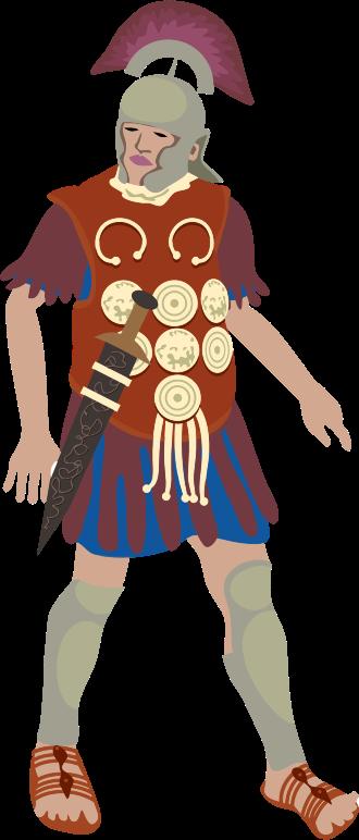 Clipart - Roman Centurion