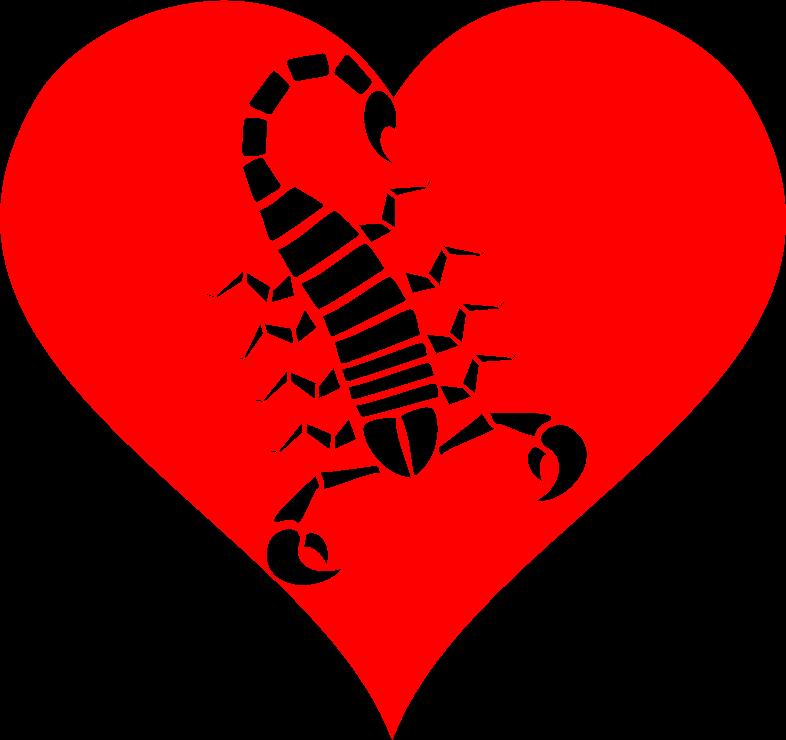 Clipart - Heart Of Venom